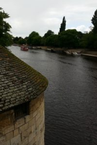 View from the bridge in York, 13 July 2016