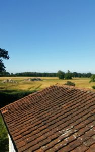 View from Claxton Hall Cottage B&B York